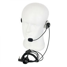 Retevis 2Pin Earpiece Mic Finger PTT Headset for Kenwood BAOFENG 2 Way Radio US