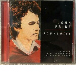 "Hard to Find John Prine CD  ""Souvenirs"" on Oh Boy Records - near mint condition"