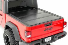 Rough Country Jeep Low Profile Hard Tri-Fold Tonneau Cover 2020 Gladiator|5' Bed