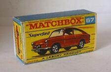 Repro Box Matchbox Superfast Nr.67 Volkswagen 1600 TL rot