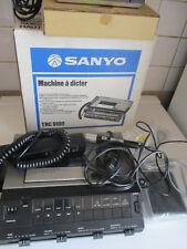 Sanyo TRC-9100 Machine à dicter et enregistrer les appels téléphoniques complet