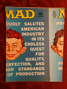 RARE MAD magazine June 1972 Medical Center Carnal Knowledge