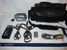 New ListingSony Dcr-Hc28 MiniDv Mini Dv Camera Stereo Camcorder Vcr Player Video Transfer