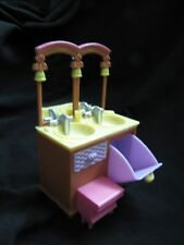 FISHER PRICE Loving Family Dollhouse BATHROOM MIRRORED VANITY SINK Mirror