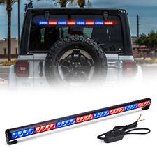 """35.5"""" LED Warning Emergency Traffic Advisor Truck Strobe Light Bar (Red & Blue)"""