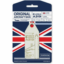 British Airways Airbus A319 – G-EUOH Luggage Tag AviationTag