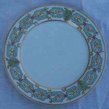 Haviland Limoges China Small Plate with Green Garland Design and Gold Trim