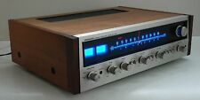 Vintage Pioneer SX-727 FM/AM Stereo Receiver : Fuse LED Lamps Upgraded!!!