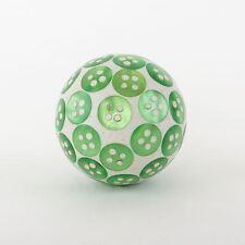 Green Button Round Ceramic Chic Door Drawer Knobs Handle Cupboard Pull Knob