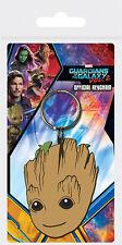 Guardians of the Galaxy Bambino Groot gomma portachiavi 2 NUOVO