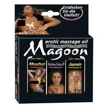 EROTIC MASSAGE OIL SET of 3 x 50ML High Quality Lube Lubricant LONG LASTING Sex
