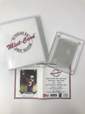 Highland Mint Sports Collection SEAHAWKS RICK MIRER 4.25 oz .999 Silver Topps