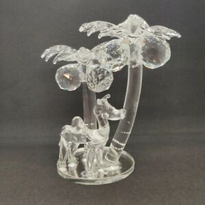 11CM Crystal Coconut Tree Shiny Bling Present Gift Decoration Home Decor AU STOC
