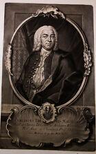 1744 Mauchart Burkhard David Stuttgart Tübingen Schabkunst-Porträt Haid Majer