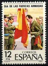 SPAGNA 1981 SG#2644 Giornata Forze Armate Gomma integra, non linguellato #D68138