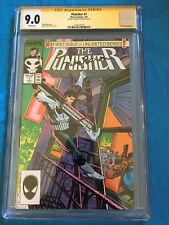 Punisher #1 - Marvel - CGC SS 9.0 - Signed by Mike Baron