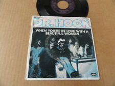 "DISQUE 45T ALLEMAND DE Dr. HOOK "" WHEN YOU'RE IN LOVE WITH A BEAUTIFUL WOMAN """