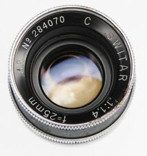 Kern 25mm f1.4 Switar C mount  #284070