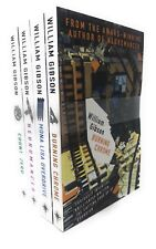 William Gibson Neuromancer Trilogy Collection 4 Books Set Pack Count Zero...