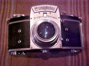 Vintage Exakta V 35mm SLR Film Camera - Need Some TLC