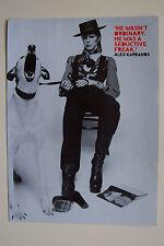 DAVID BOWIE - Magazine Poster