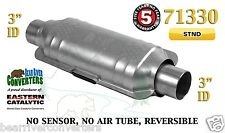 "Eastern Universal Catalytic Converter Standard Catalyst 3"" Pipe 12"" Body 71330"