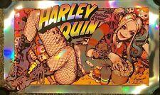 Harley Quinn Rockin Jelly Bean Foil Variant Print Poster Bottleneck NYCC