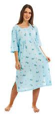 i-Smalls Ladies Short Sleeve 100% Cotton Nightshirt Nightie