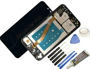 Display Für Huawei Mate 20 Lite Komplettes Bildschirm Lcd Touch Rahmen Schwarz +