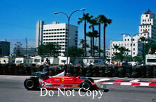Gilles Villeneuve Ferrari 312 T4 USA West Grand Prix 1979 Photograph 2