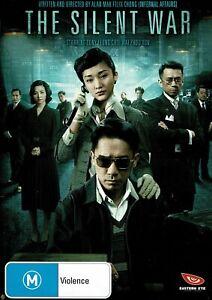 """TONY CHIU-WAI LEUNG, XUN ZHOU      """"THE SILENT WAR""""    R.4    DVD"""