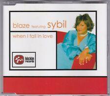 Blaze feat. Sybil - When I Fall In Love - CD (6 x Track CVCDS006 Creative Vibes)