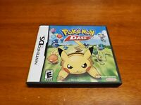 Pokemon Dash (Nintendo DS, 2005) TESTED Authentic Fast Shipping