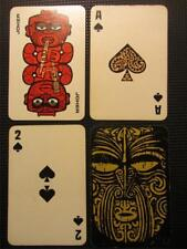 Scarce 1970's NZ MAORI Royalty Mint Playing Cards Spectacular Courts.