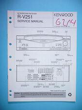 Manuel de reparation pour Kenwood r-v251, original