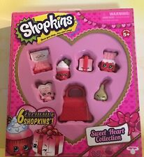 New Shopkins Sweet Heat Collection - 6 Exclusive Valentine's Day Shopkins