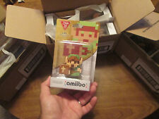 8-BIT LINK AMIIBO The Legend of Zelda  30th Year Edition US 1' First Print RARE