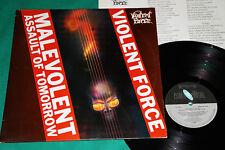 Violent Force - Malevolent Assault Of Tomorrow LP 1st Press Brazil 1989