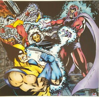 X-Men #112 George PEREZ / Colorist Sean TIFFANY Signed by both 1990's MARVEL