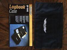 NEW ASA Master Logbook Case | ASA-SP-BAG | Pilot Aircraft Logbook Bag