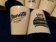 Shotglasses-Bushmills Irish Honey  No Sting Irish Wiskey Ceramic 2oz SET of 24