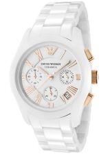 Emporio Armani Ladies Ceramica Watch White Bracelet & Dial AR1417