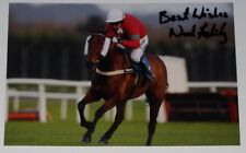 NOEL FEHILY HORSE RACING PERSONALLY HAND SIGNED AUTOGRAPH 12X8 PHOTO