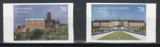 GERMANY 2017 EUROPA CEPT.CASTLES.Set of 2 SELF ADHESIV stamp