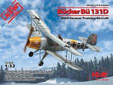 ICM 1/32 tronçonneuse Bu-131D WWII German TRAINING AIRCRAFT Nº 32030