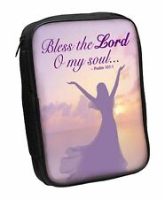 Psalm 103:1 Bless the Lord O My Soul Bible Cover Female (81429) NEW