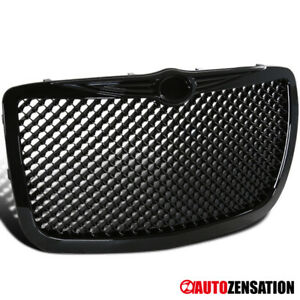 2004 2005-2010 Chrysler 300/ 300C Bentley Style Glossy Black Grille
