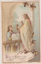 IMAGE PIEUSE HOLY CARD SANTINI JESUS-Donnez-moi Seigneur ce don de votre amour