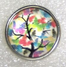 CLASSIC SNAPS SNAP CHUNK CHARMS - TREE OF BUTTERFLIES