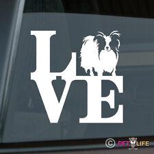 Love Papillon Sticker Die Cut Vinyl - park
